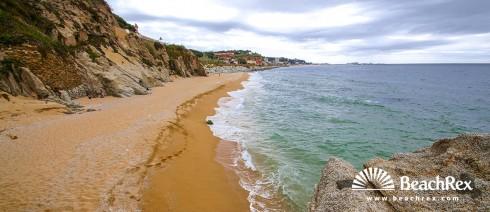 Spain - Àmbit metropolità -  Arenys de Mar - Beach de les roques d'en Lluc
