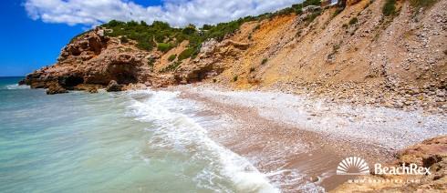 Spain - Àmbit metropolità -  Sitges - Beach de Pebre