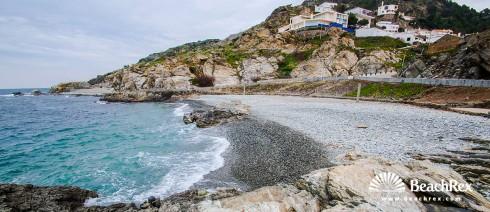 Spain - Comarques gironines -  El Port de la Selva - Beach El Pas