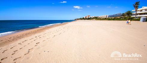 Spain - Camp de Tarragona -  Miami Platja - Beach Guardamar