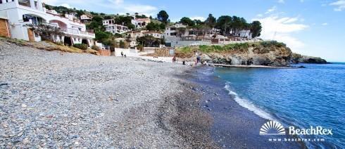 Spain - Comarques gironines -  Colera - Beach Rovellada