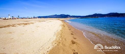 Spanien - Comarques gironines -  Empuriabrava - Strand d'Empuriabrava