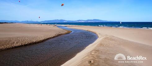 Spain - Comarques gironines -  L'Escala - Beach de Riuet