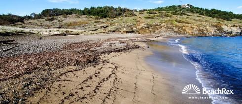 Spain - Comarques gironines -  Colera - Beach Borro d'Enterra