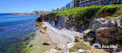 Spain - Comarques gironines -  L'Escala - Beach Baixada Monjo