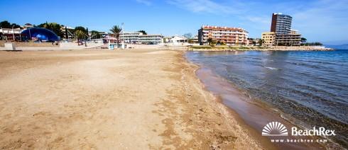 Spain - Comarques gironines -  L'Escala - Beach de Riells