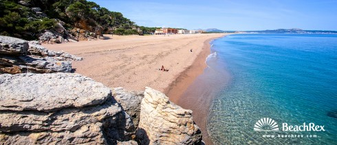 Spain - Comarques gironines -  Begur - Beach del Raco