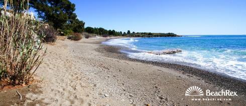 Španjolska - Comarques gironines -  Llanca - Plaža Canyelles