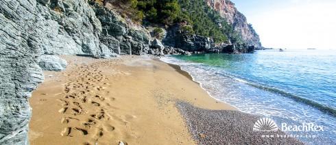 Spain - Comarques gironines -  Begur - Beach Fonda