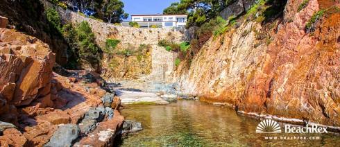 Spain - Comarques gironines -  Begur - Beach n'Estasia