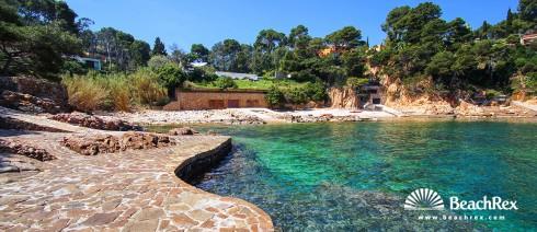 Spain - Comarques gironines -  Begur - Beach de Smiroli