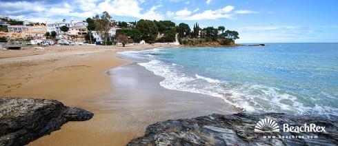 Spain - Comarques gironines -  Llanca - Beach Grifeu