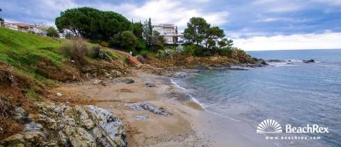 Spain - Comarques gironines -  Llanca - Beach L'Alguer