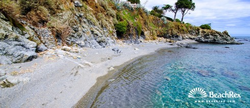 Spain - Comarques gironines -  Llanca - Beach l'Embarril