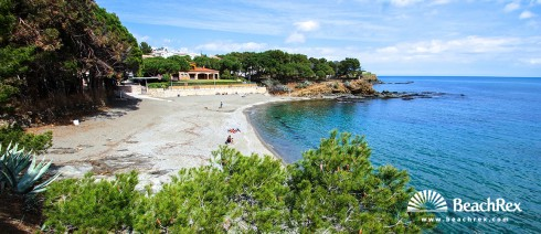 Spain - Comarques gironines -  Llanca - Beach Farella