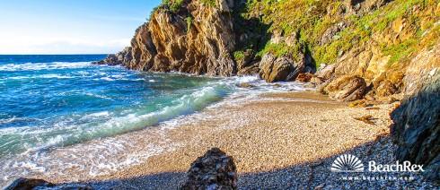 France - Var -  Hyères - Beach La Polynésie