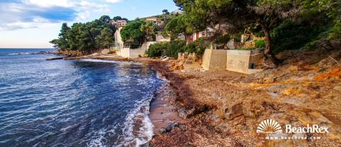 France - Var -  Carqueiranne - Beach Le Canebas