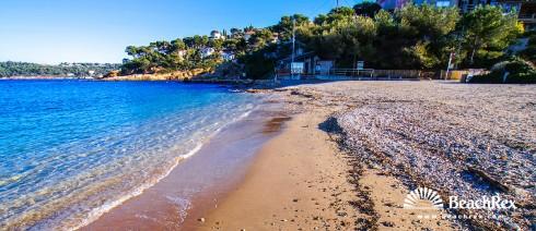 France - Var -  Le Pradet - Beach des Oursiniers