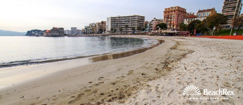 France - Var -  Toulon - Beach du Mourillon
