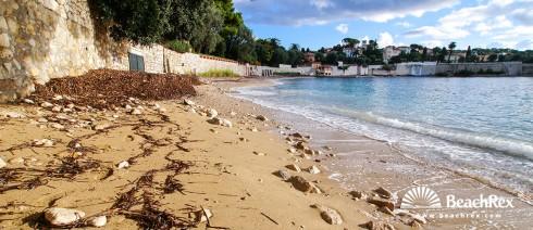 France - AlpesMaritimes -  Saint-Jean-Cap-Ferrat - Beach les Fosses
