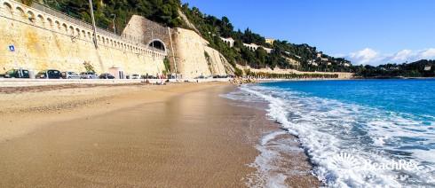 France - AlpesMaritimes -  Villefranche-sur-Mer - Beach Marinieres