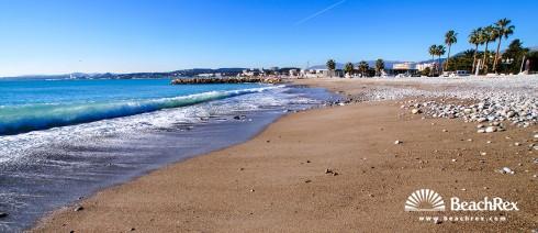 France - AlpesMaritimes -  Cagnes-sur-Mer - Beach du Port