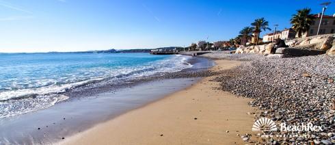 France - AlpesMaritimes -  Cagnes-sur-Mer - Beach Cros de Cagnes