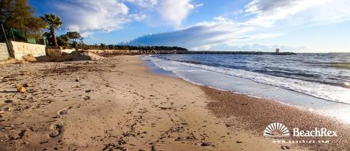 France - AlpesMaritimes -  Antibes - Beach Crouton