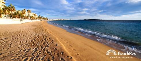 Francuska - AlpesMaritimes -  Cannes - Plaža Midi