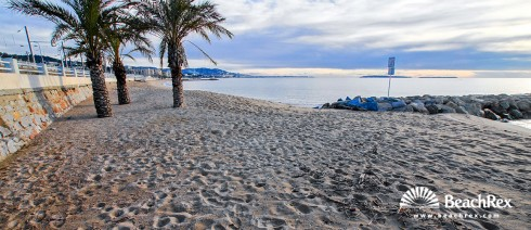 France - AlpesMaritimes -  Cannes - Beach Roubine