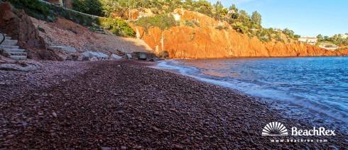 France - Var -  Saint-Raphaël - Beach d'Abel Baliff
