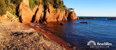 France - Var -  Saint-Raphaël - Beach des Lucioles