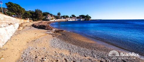 France - Var -  Roquebrune-sur-Argens - Beach des Peiras