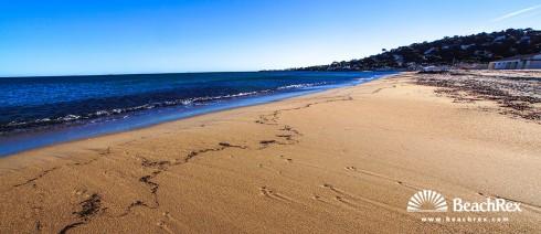 France - Var -  Sainte-Maxime - Beach de la Nartelle