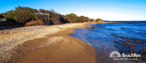 France - Var -  Sainte-Maxime - Beach des Sardinaux