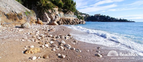 France - AlpesMaritimes -  Èze - Beach Saint Laurent