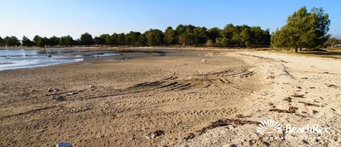 Croatia - Dalmatia  Zadar -  Zaton - Beach Jaz