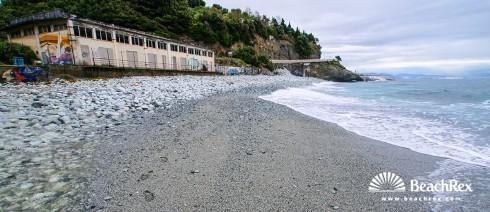 Italy - Liguria -  Varazze - Beach Punta dell' Aspera