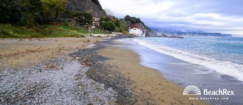 Italy - Liguria -  Savona - Beach Garbasso
