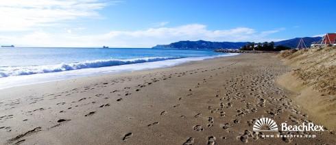 Italy - Liguria -  Savona - Beach Fornaci