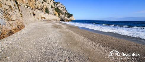 Italy - Liguria -  Varigotti - Beach Saraceni