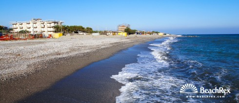 Italy - Liguria -  Albenga - Beach Michelangelo