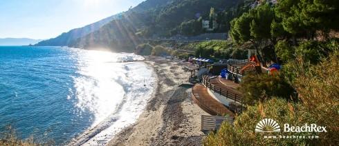 Italy - Liguria -  Albenga - Beach Baba