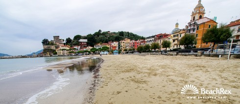 Italy - Liguria -  Lerici - Beach San Terenzo