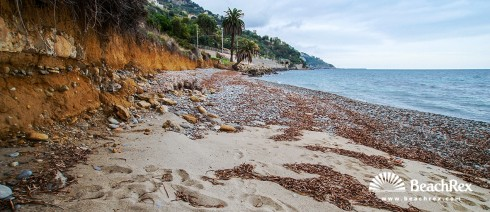 Italy - Liguria -  Latte - Beach Romana