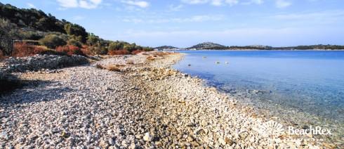 Croatia - Dalmatia  Šibenik - Island Murter -  Murter - Beach Kolentum