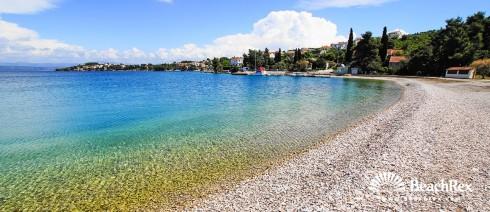 Croatia - Dalmatia  Split - Island Šolta -  Nečujam - Beach Supetar