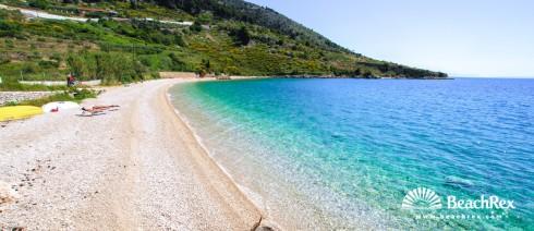 Croatia - Dalmatia  Split - Island Brač -  Bol - Beach Martinica