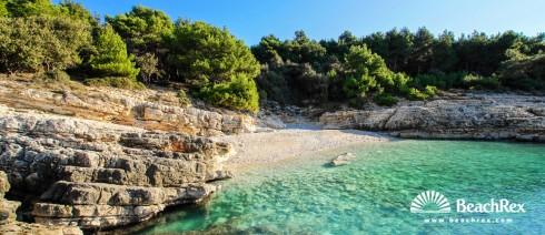 Croatia - Istra -  Premantura - Beach Pinižule