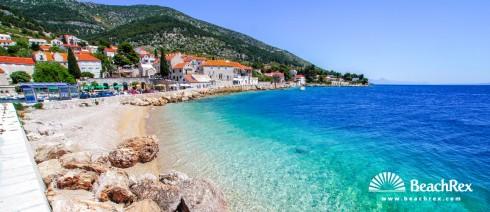 Croatia - Dalmatia  Split - Island Brač -  Bol - Beach Port Bol
